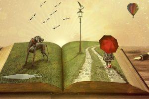 concept illustration of storytelling